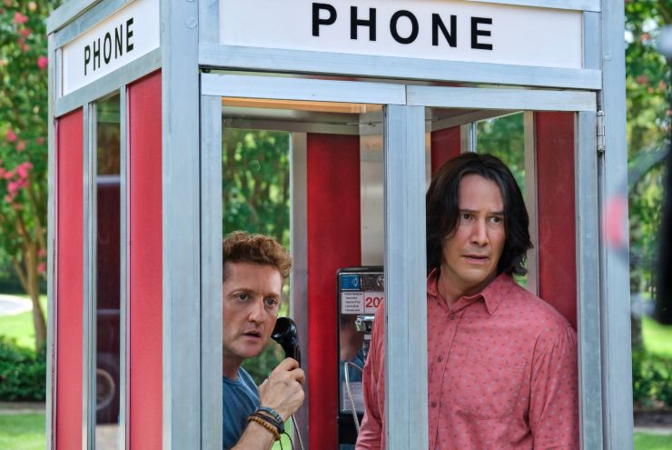 Bill and Ted Face The Most Excellent Number 1 Official Film Chart