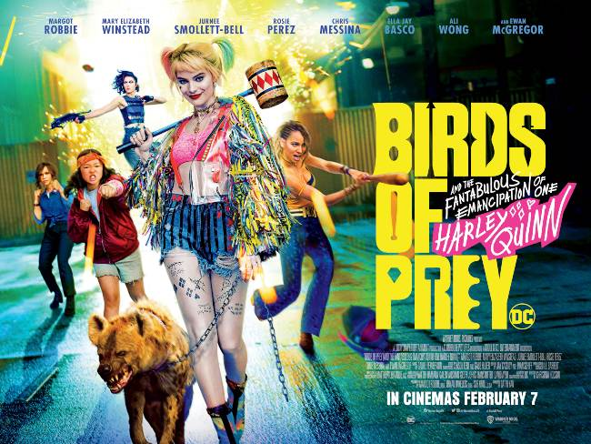 Image result for birds of prey movie poster