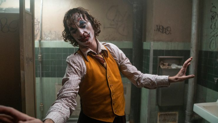 Joker 'Still Smiling'  At The Film Chart Top Spot