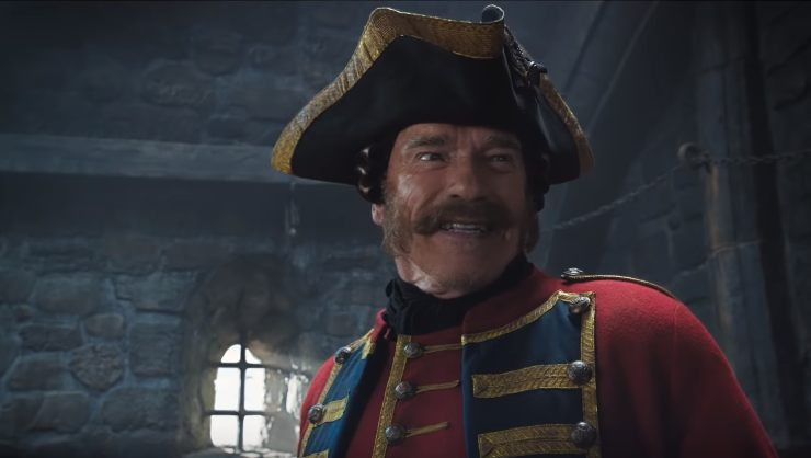 The Iron Mask UK Trailer Jackie Chan and Arnold Schwarzenegger Having Fun