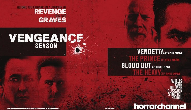 All About The Vengeance Season At The Horror Channel In April