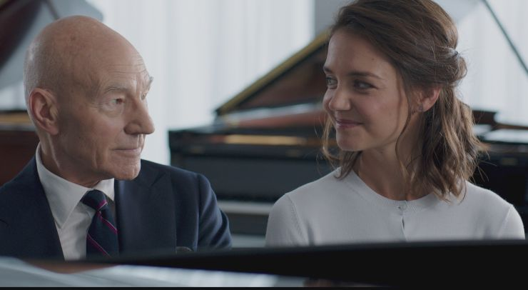 Watch Patrick Stewart And Katie Holmes With Life With Music UK Trailer