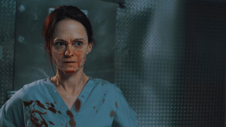 Angela Bettis Is On The Shift From Hell In 12 Hour Shift Trailer…