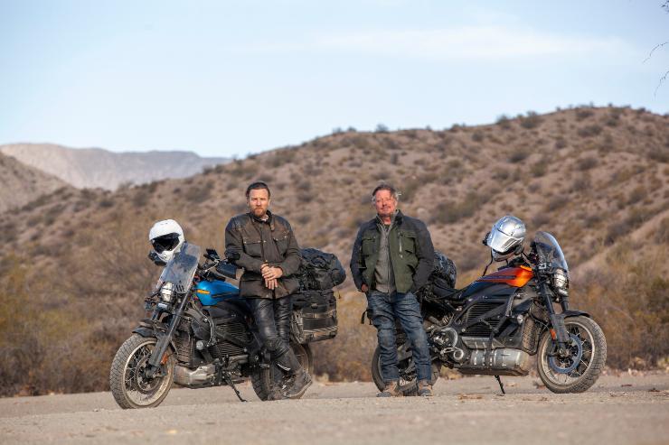 Ewan McGregor, Charley Boorman  Long Way Up Coming To Apple TV+