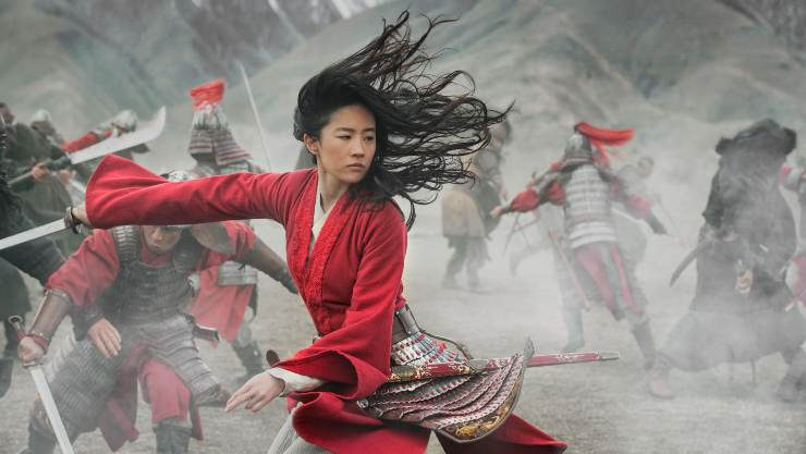 Disney Mulan Sits At The Top Of Official Film Chart