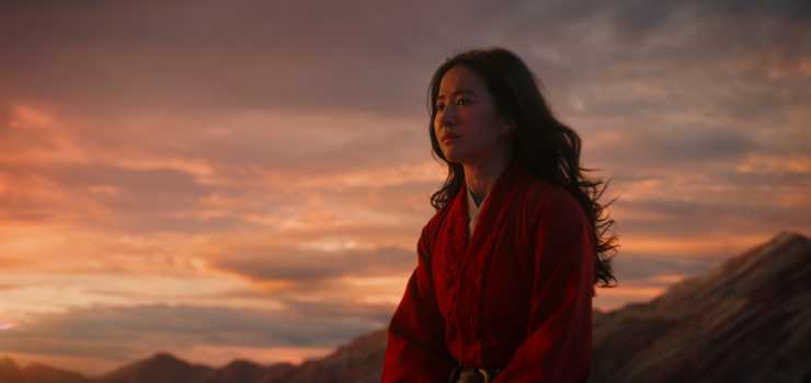 Mulan Spends Second Week As  the Official Film Chart Number One!
