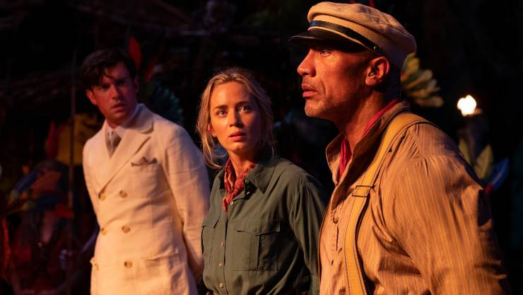 Disney's Jungle Cruise Sails Into Official Film Chart Number One!