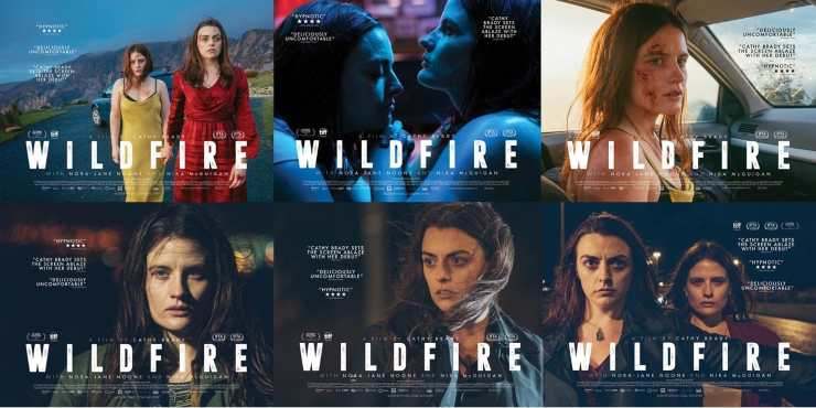 Multiple New Posters For Cathy Brady's 'Wildfire'