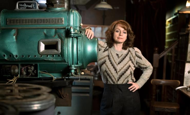 First Look At Samantha Morton In Sky Cinema's Save The Cinema