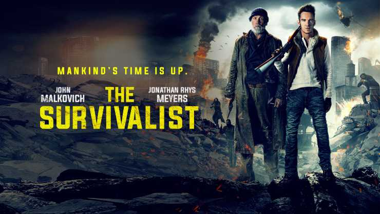 Win Thriller The Survivalist Digital HD Starring Jonathan Rhys Meyers