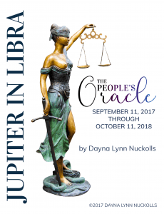 Lady Justitia, Jupiter in Libra by Dayna Lynn Nuckolls
