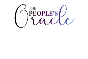Logo with text The People's Oracle