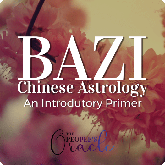 Bazi is Chinese Astrology, this is an introductory primer