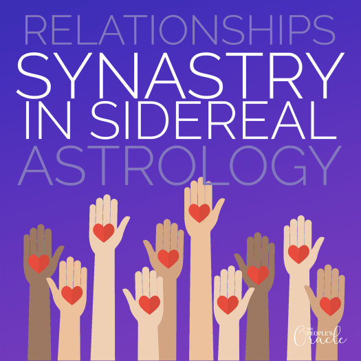 Relationships Synastry in Sidereal Astrology by The People's Oracle - Dayna Lynn Nuckolls