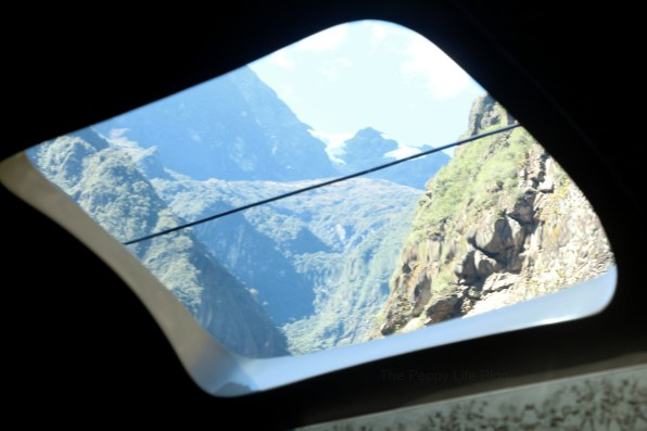 View on the train from Ollantaytambo to Aguas Caliente