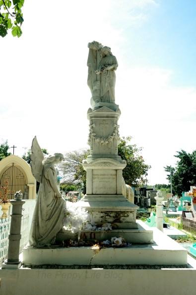 Zacatecoluca's cemetery
