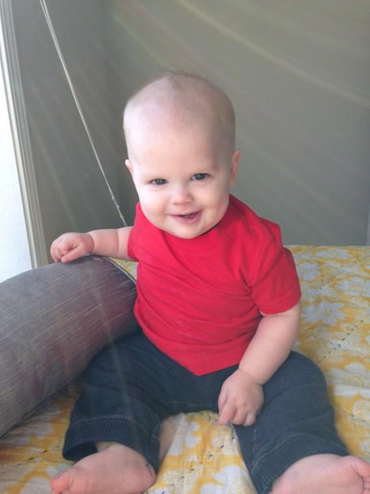 happy 8 months, baby boy!