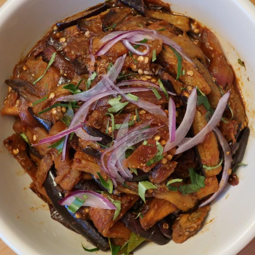 Image of Sri Lankan Roasted eggplant Curry