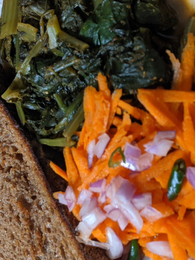 Image of Bread and Dandelion Curry