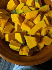 image of cubed pumpkins
