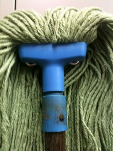 """The title of this image is """"Angry Mop"""". And it's exactly how I feel today. This low wiped the floor with me."""