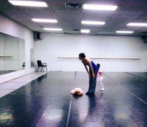 This is a ballet class, not interpretive dance.