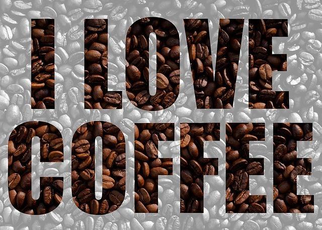 i love coffee sign
