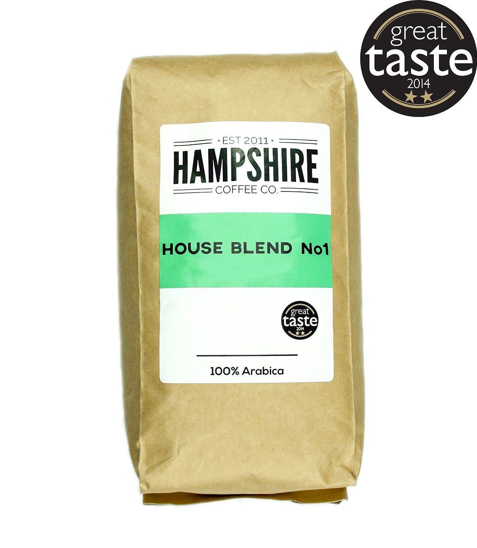 Hampshire Coffee Co - House Blend No 1- Great Taste Award Winner