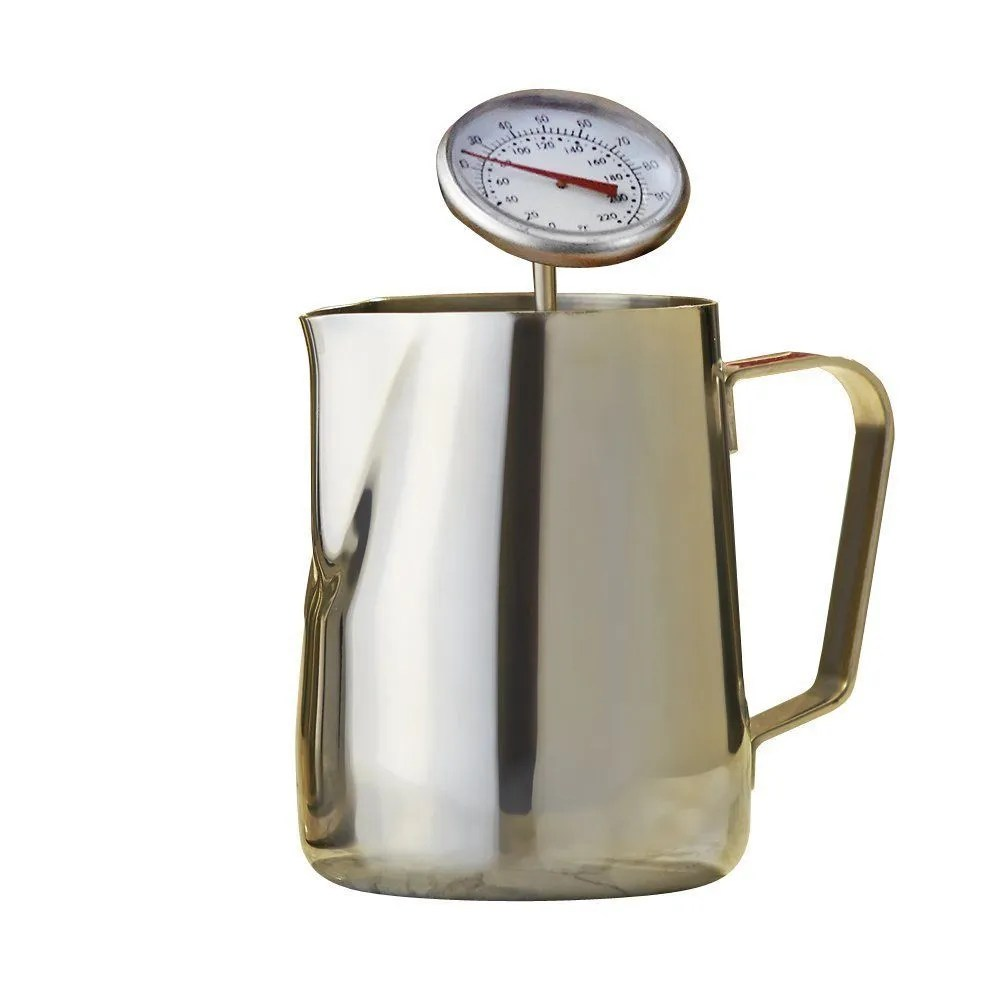 Cooks Professional 350ml Stainless Steel Coffee Frothing Latte Milk Jug