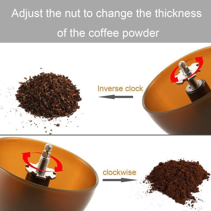 Coolife Coffee Grinders Burr Hand Coffee