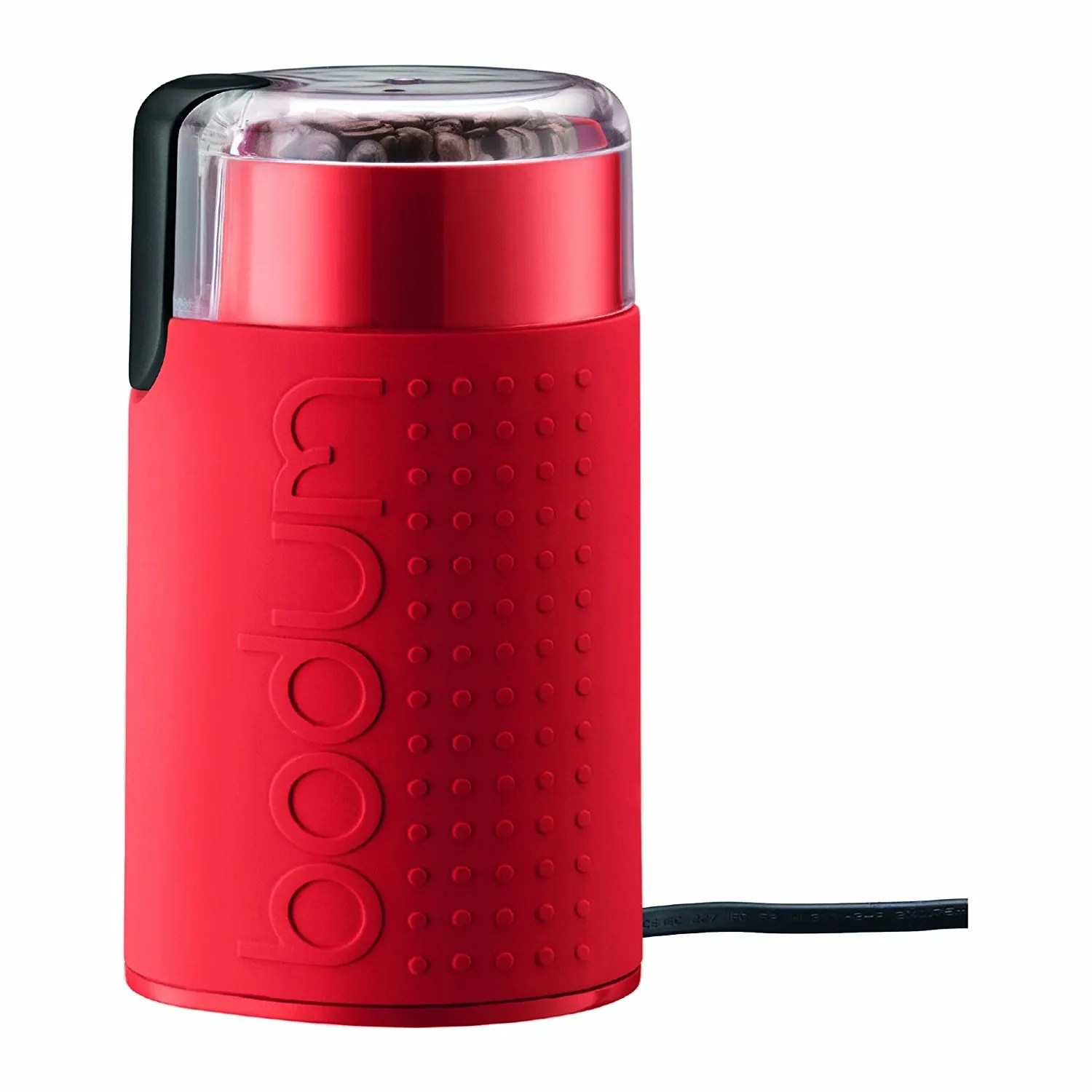 Bistro Electric Coffee Blade Grinder Red