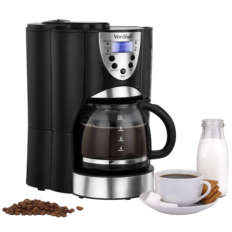 Vonshef Digital Filter Coffee Maker Uk Review 2019 The