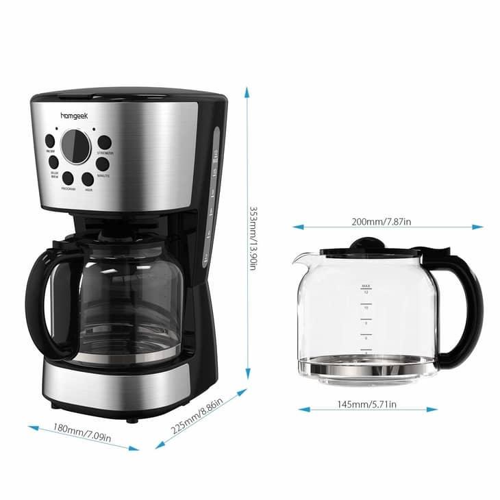 Homgeek Filter Coffee Machine