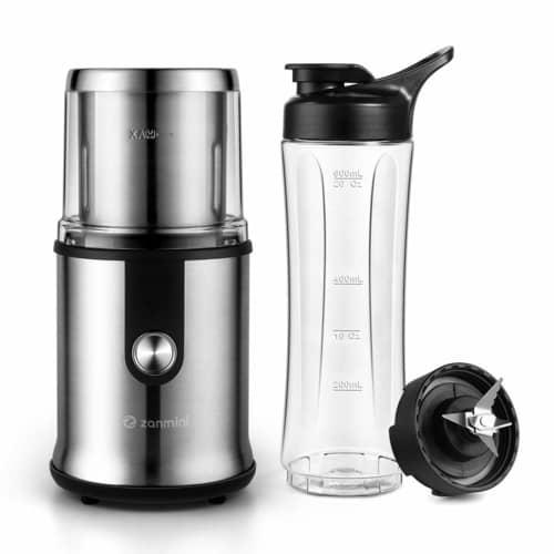 grind coffee using a kitchen blender