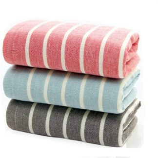 "LifeWheel Cotton Gause Muslin Hand Towels(3 Pack,16""x 28"") - Soft Absorbent Durable Towels for Home and Outdoor Use (color1)"