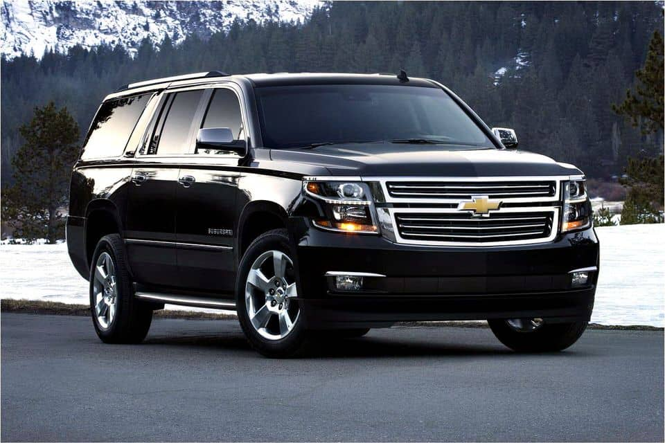 Chevy Suburban Luxury Suv  The Perfect Limo And Sedan