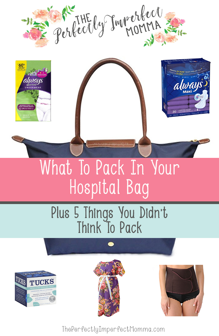 hospital bag checklist for baby