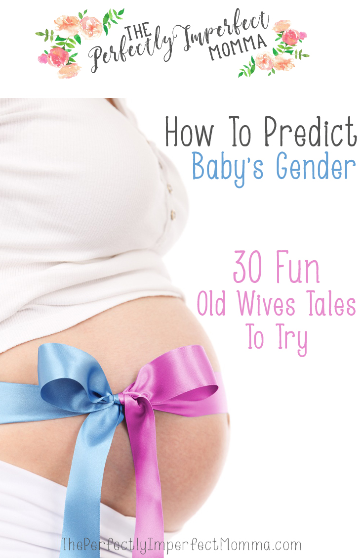 How to predict baby's gender: 30 fun old wives tales