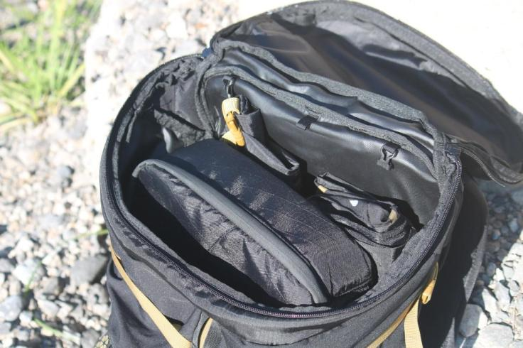 Boreas bootlegger review main compartment