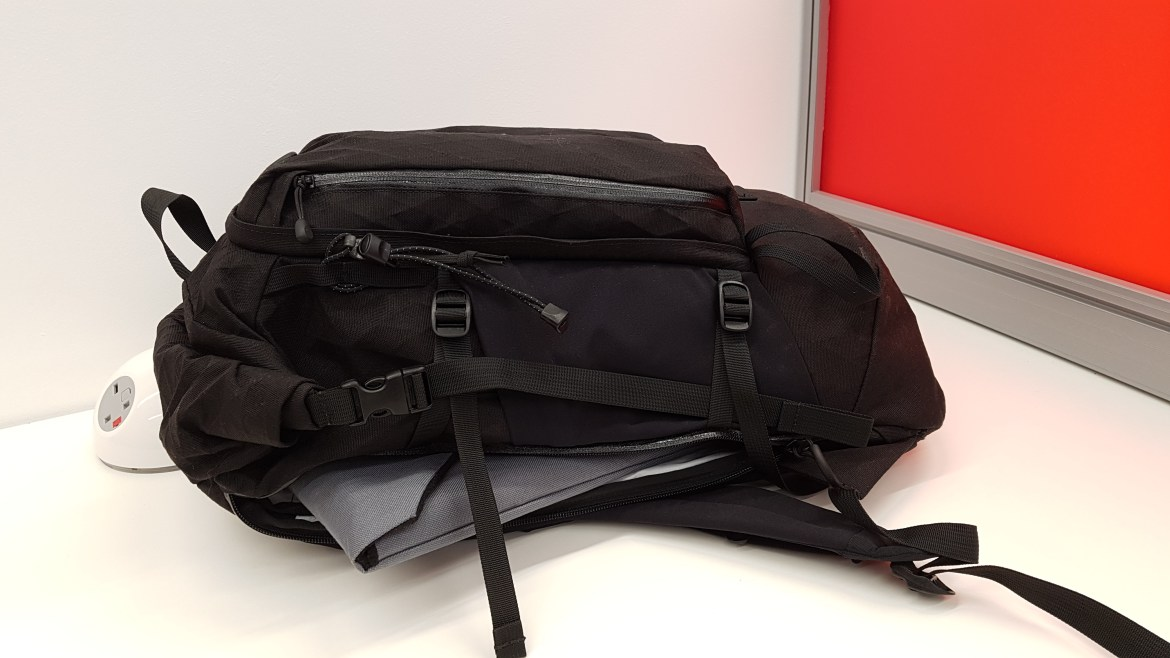 Remote Equipment Alpha 31 Backpack laptop protection
