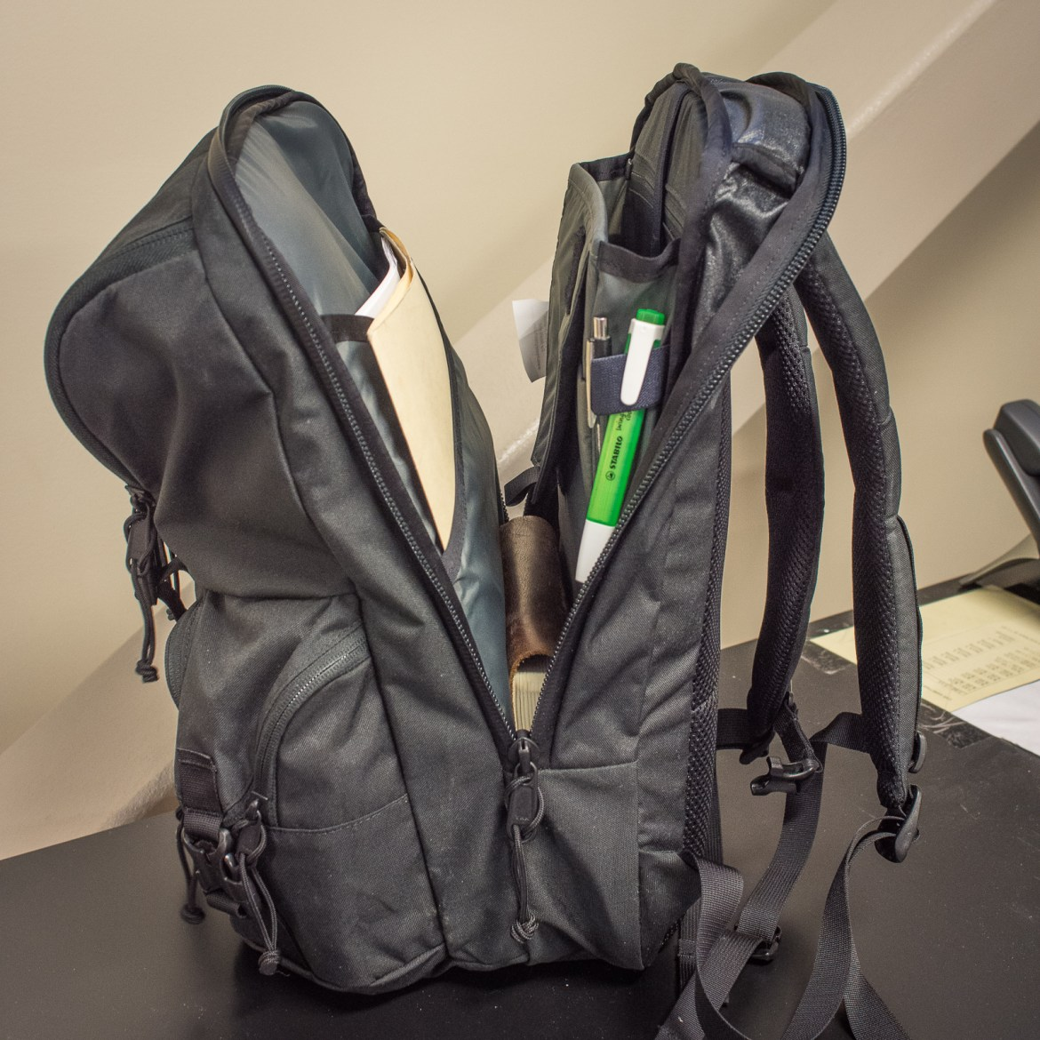 Mystery Ranch Rip Ruck Backpack review laptop compartment opening length
