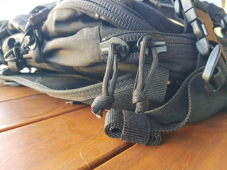 Hill People Gear Aston House Backcountry paracord zipper pulls