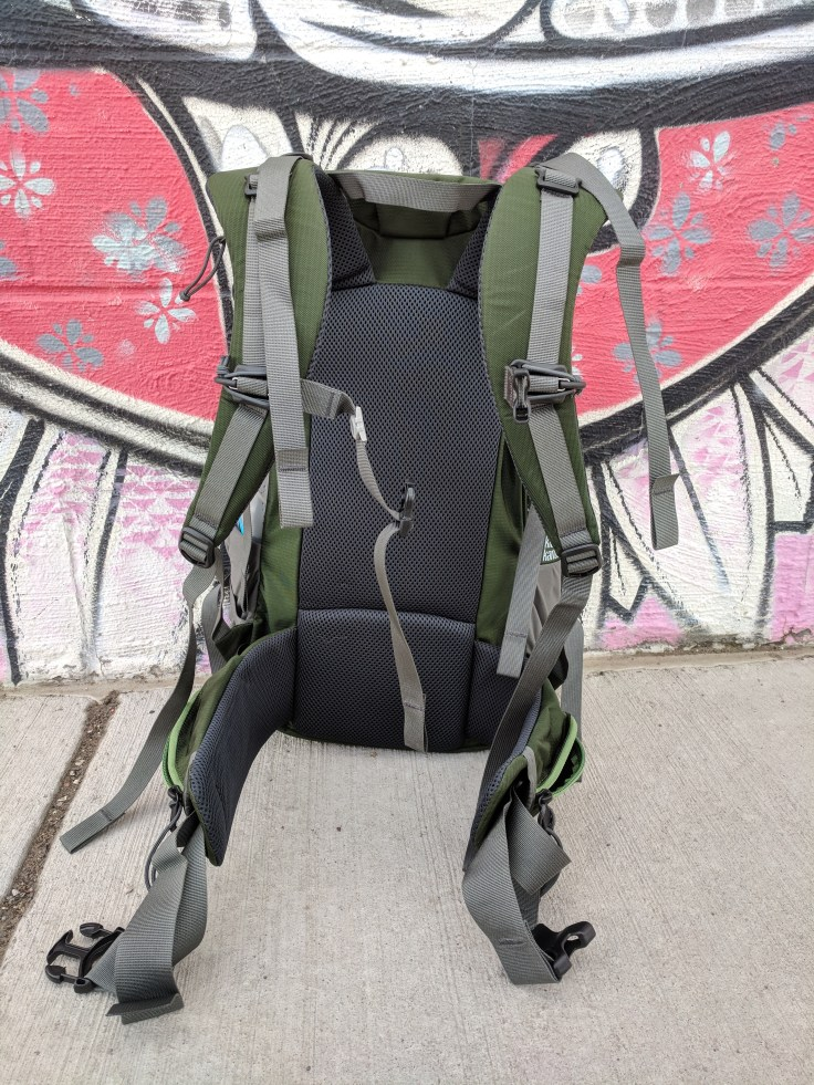 Mystery Ranch Hardscrabble review frame and shoulder straps