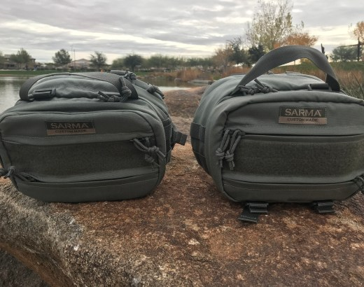 Sarma Custom Torba Mini backpack review 2018 hip pack classic version comparison