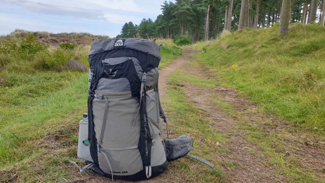 Massdrop X Granite Gear Crown2 backpack review title image outdoors