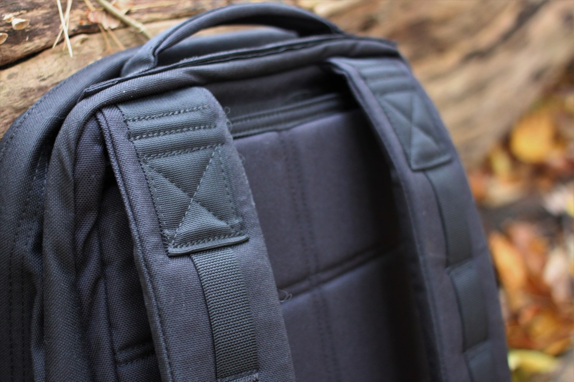 goruck gr1 review shoulder straps quality attachment