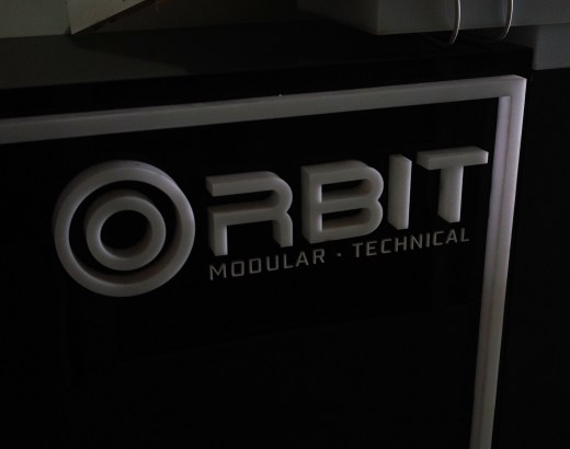 Orbit Gear modular technical clothing logo factory photo