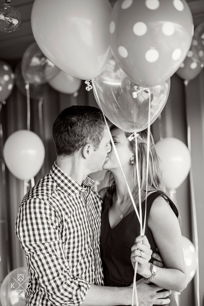 amazing balloon proposal ever