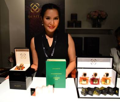 Pissara Umavijani from Dusita at Esxence 2016 | Photo by The Perfume Magpie