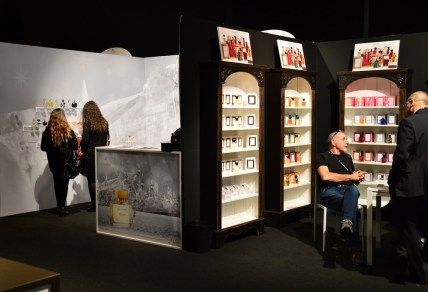 Towards the end of the last day, things were getting quieter at Esxence.   Photo by The Perfume Magpie